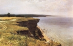 Ivan Ivanovich Shishkin (1832  1898)   Along the shores of the Gulf of Finland (Udrias near Narva)   Oil on canvas, 1889   91.5 x 145.5 cm